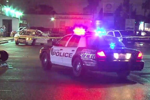 One man died after an overnight double shooting.