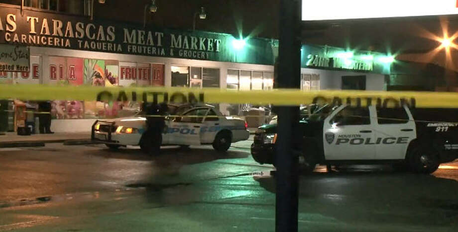 One man died after an overnight double shooting. Photo: Metro Video
