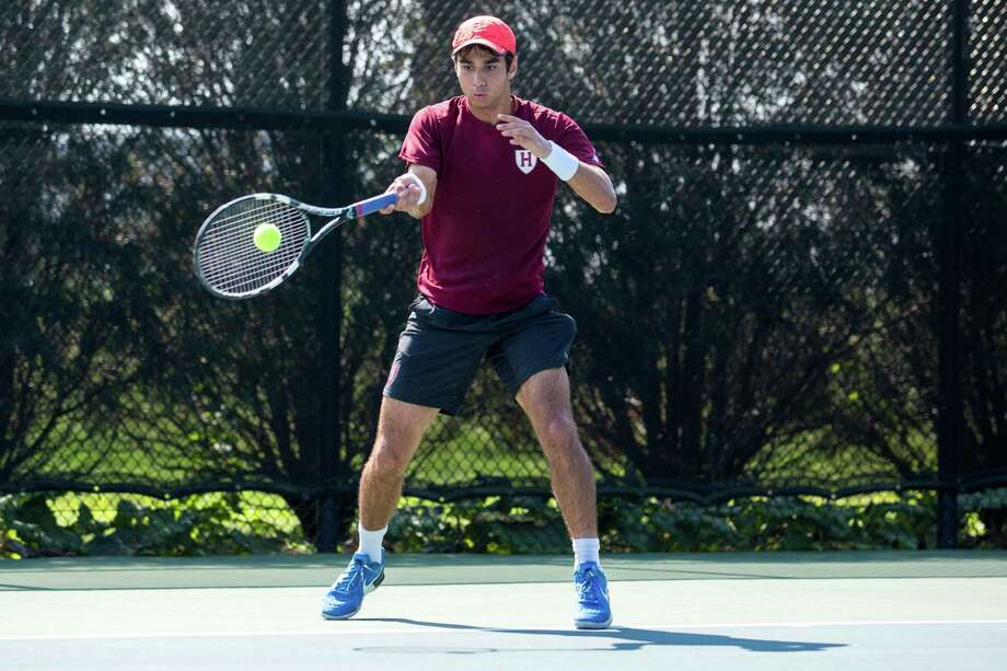 St. John's graduate and Harvard senior Xavier Gonzalez received the prestigious Rhodes Scholarship. The former Mavericks star has a 4.0 GPA and is a peer advising fellow, as well as a four-year varsity tennis player, at Harvard. Photo: Harvard Athletics / Harvard Athletic Communications