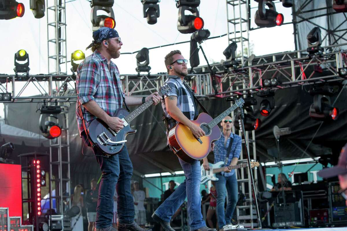 """Eli Young Band will be playing at the Arlington sports stadium June 4 through June 7 with Whiskey Myers, Pat Green, Josh Abbott Band and Kevin Fowler for the """"Concert in Your Car"""" series."""