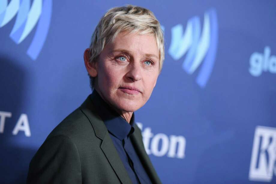FILE - In this March 21, 2015, file photo, Ellen DeGeneres arrives at the 26th Annual GLAAD Media Awards held at the Beverly Hilton Hotel, in Beverly Hills, Calif. Photo: Richard Shotwell / Invision