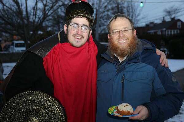 "The Fairfield Menorah Lighting took place on the Town Green December 17, 2017. Families enjoyed latkes and donuts, music from Judah the Macabee and activities for the kids. The Fairfield Fire Department treated the crowd to chocolate gelt ""raining"" down from a rescue truck. Were you SEEN?"