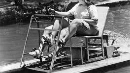 In the 1960s and '70s paddleboats plied the river. Games of chicken were not uncommon.