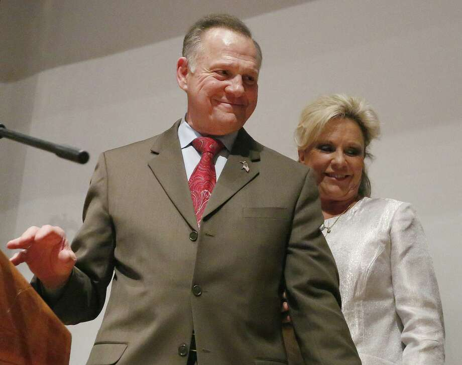 Republican Senate candidate Roy Moore's loss in Alabama is giving heart to Texas Democrats who predict an anti-Trump wave also will help lift their lagging fortunes. Photo: Brynn Anderson /Associated Press / Copyright 2017 The Associated Press. All rights reserved.