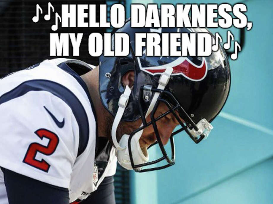Source: Demetrio Teniente (Photo: Brett Coomer)Browse through the photos for all the best memes from Week 15 in the NFL. Photo: Demetrio Teniente (Phot: Brett Coomer)