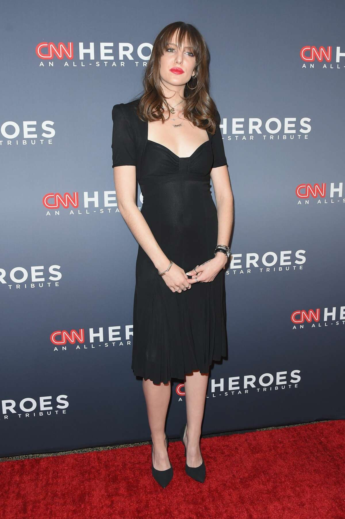 Eleanor Lambert attends CNN Heroes 2017 at the American Museum of Natural History on December 17, 2017 in New York City.