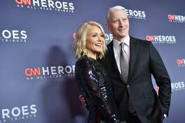 NEW YORK, NY - DECEMBER 17: Kelly Ripa (L) and Anderson Cooper attends CNN Heroes 2017 at the American Museum of Natural History on December 17, 2017 in New York City. 27437_016  (Photo by Mike Coppola/Getty Images for CNN)