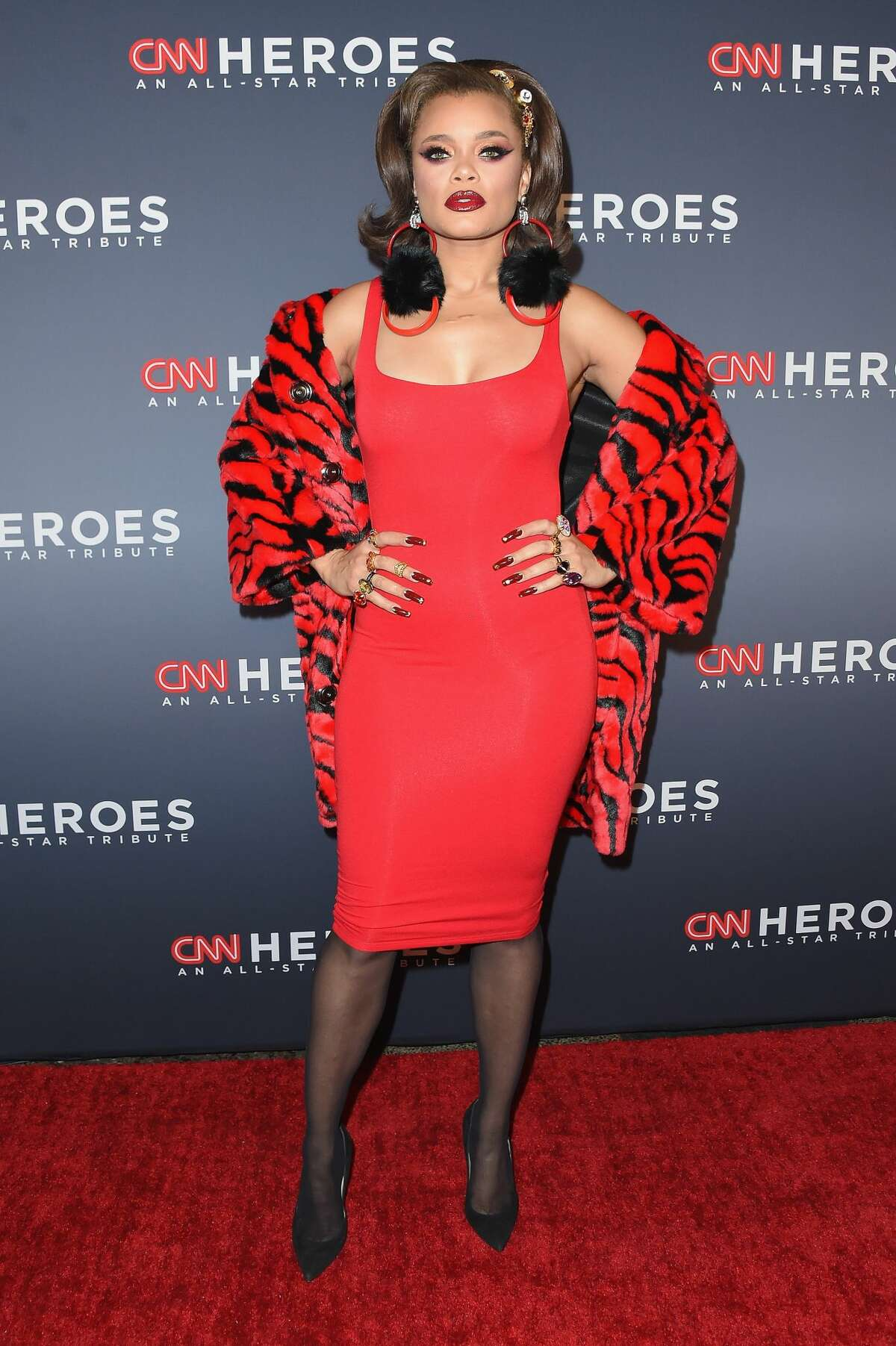 Andra Day attends CNN Heroes 2017 at the American Museum of Natural History on December 17, 2017 in New York City.