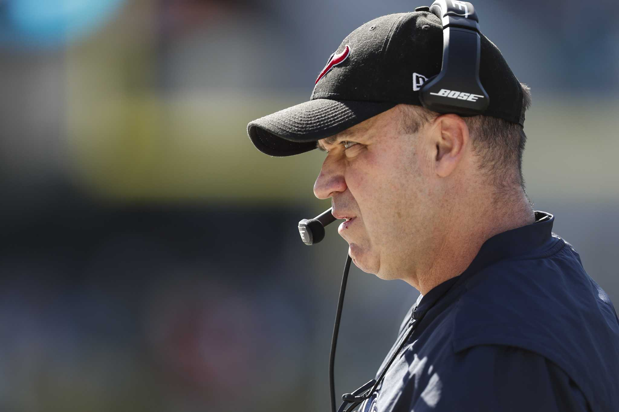 Bill O'Brien: 'I will never quit as head coach of the Houston Texans'