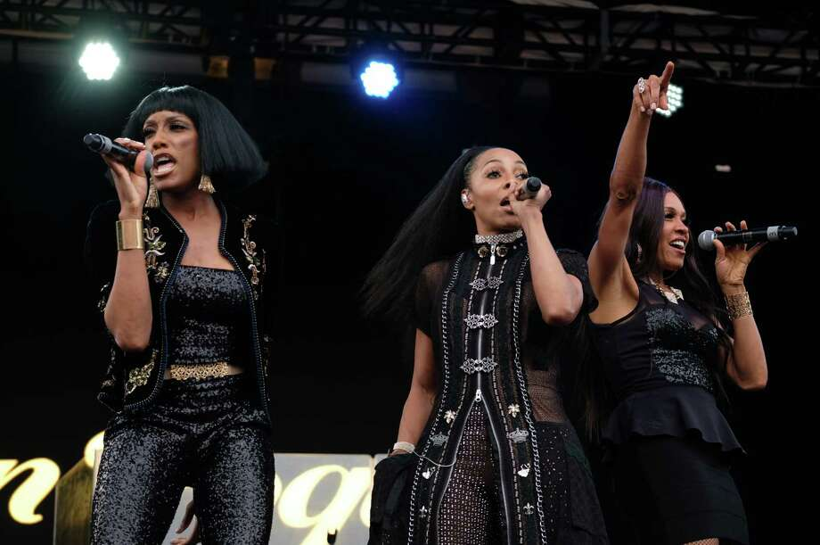 En Vogue performs at  Day For Night at Post HTX in Downtown Houston on Sunday, December17, 2017 Photo: Jamaal Ellis J.vince Photography, For The Chronicle / ©2017 Houston Chronicle