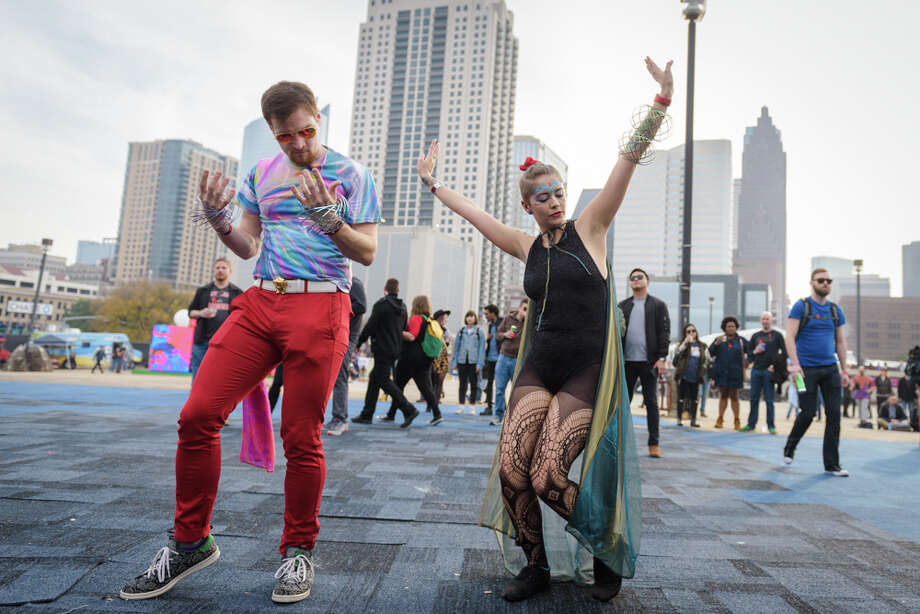 Day For Night at Post HTX in Downtown Houston on Sunday, December 17, 2017 Photo: Jay Dryden , jaydrydenphoto.com