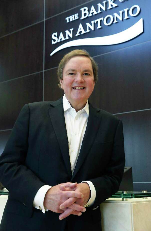 J. Bruce Bugg Jr. founded in 2007 The Bank of San Antonio, the first of three banks he has started. The others are Texas Hill County Bank, started in 2009, and The Bank of Austin, started in July. Photo: Tom Reel /San Antonio Express-News / 2017 SAN ANTONIO EXPRESS-NEWS