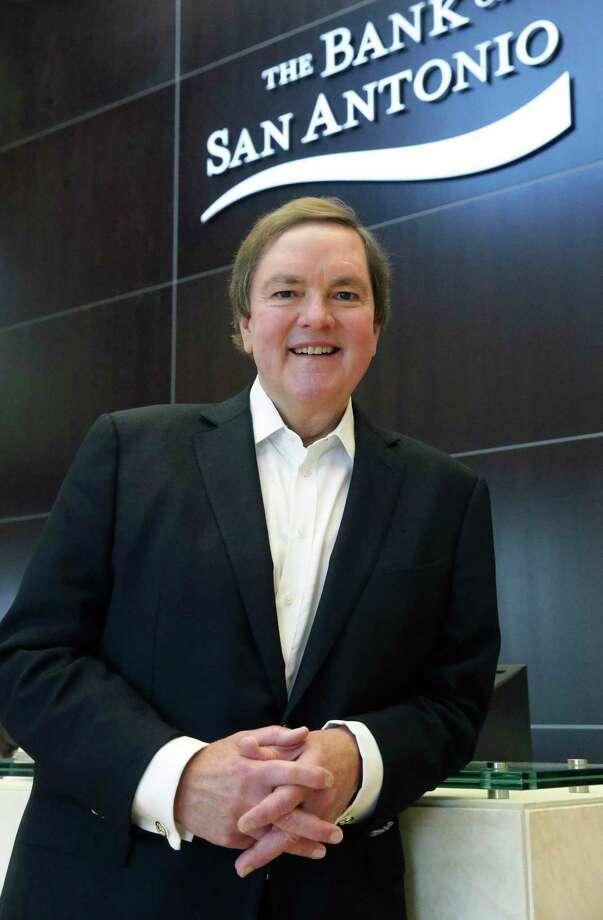 J. Bruce Bugg, Jr. is chairman of the The Bank of San Antonio. Photo: Staff File Photo / 2017 SAN ANTONIO EXPRESS-NEWS