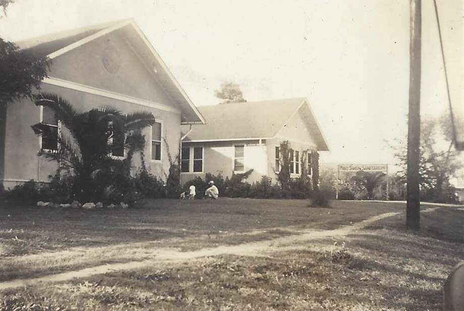 The Mary Swain Sanitarium operated as a medical facility in Conroe from 1920 through 1943. It was located at East Davis Street between Third and Fourth Streets and was run by Conroe Mayor Toby Powell's grandmother, Alma Powell, and great-aunt Laura Thompson. This photo was taken in the summer of 1940.