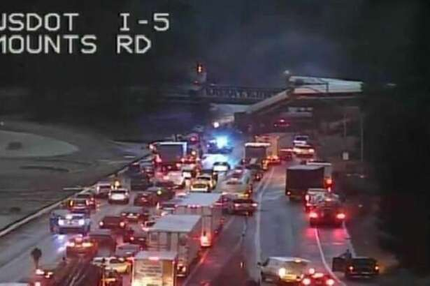 An Amtrak train derailed Monday morning.