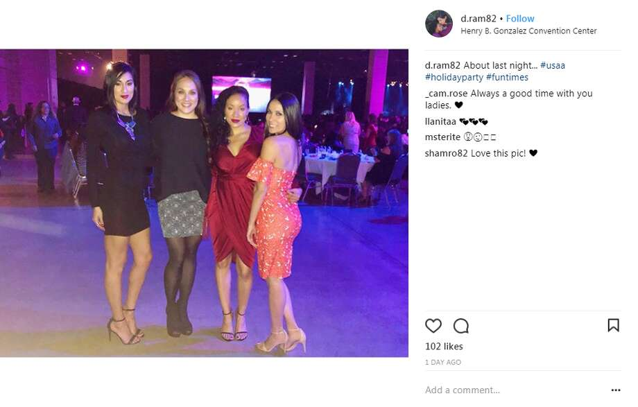 d.ram82: About last night... #usaa #holidayparty #funtimes Photo: Instagram.com