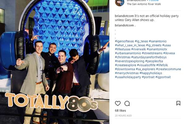 Usaa Christmas Holiday Hours 2020 Instagram takes you inside the USAA employee holiday party with