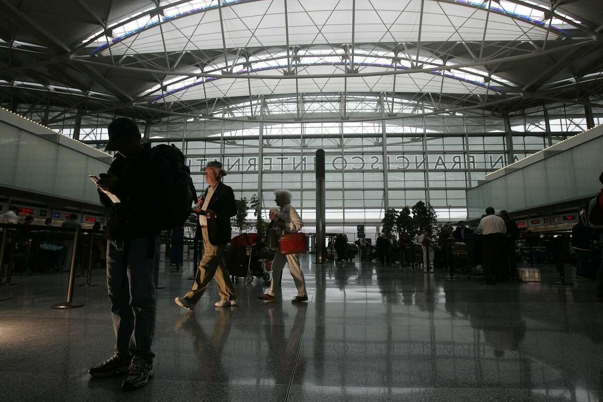 The International Terminal.