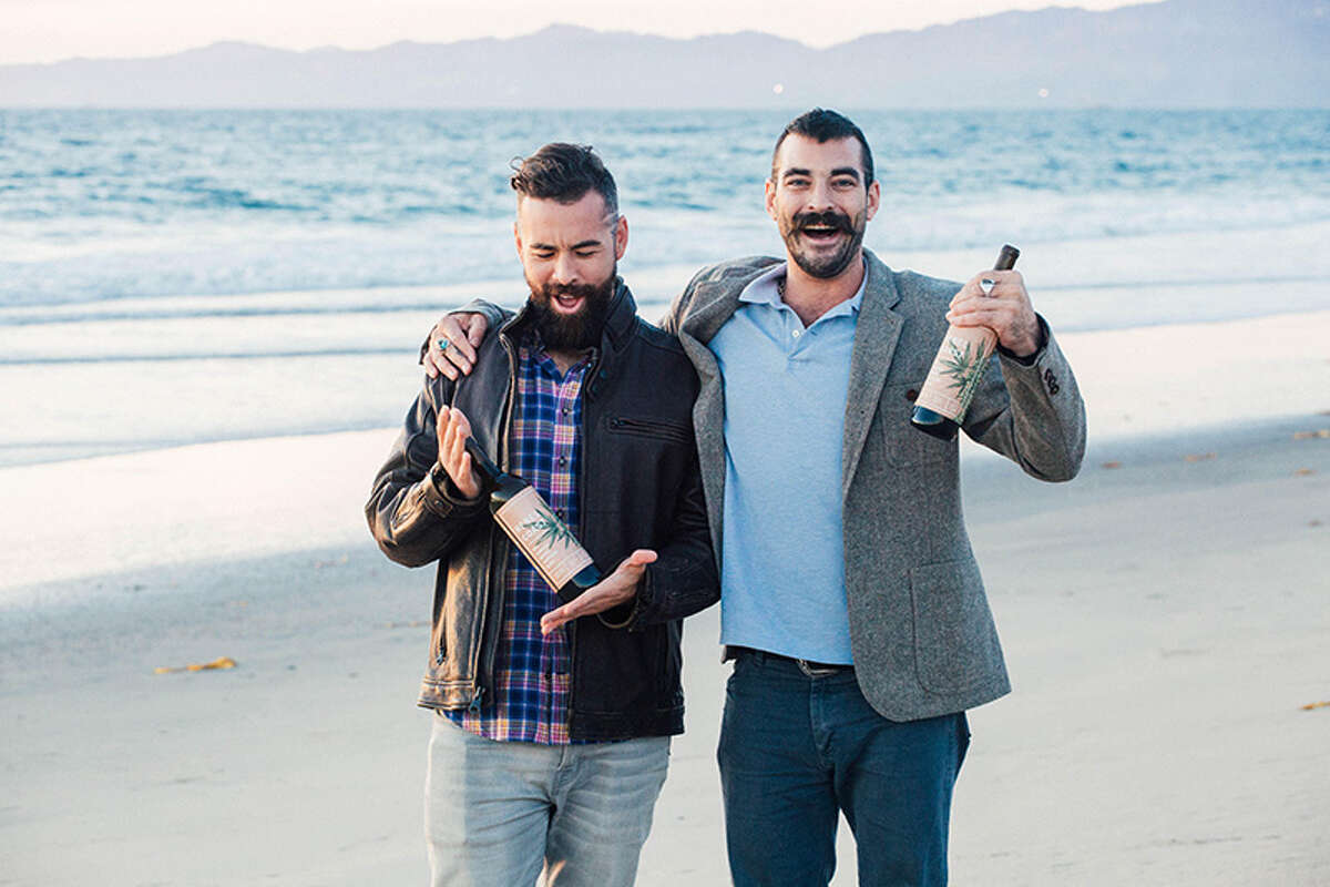Rebel Coast founders: Alex Howe (left) and Chip Forsythe (right)
