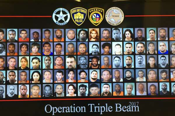 215 offenders were arrested during Operation Triple Beam, which targeted gang violence in the East Side of San Antonio