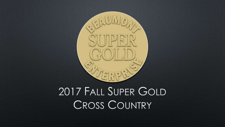 The 2017 Beaumont Enterprise Super Gold Cross Country Runners of the Year, presented by Mid County Chrysler Dodge Jeep Ram and Fiat.