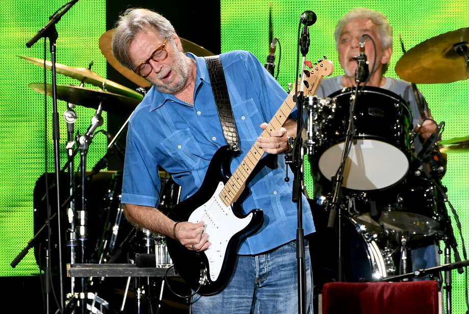 Eric Clapton will be the headline act for the 2018 Greenwich Town Party on May 26 at Roger Sherman Baldwin Park. Photo: Kevin Winter / Getty Images / 2017 Getty Images