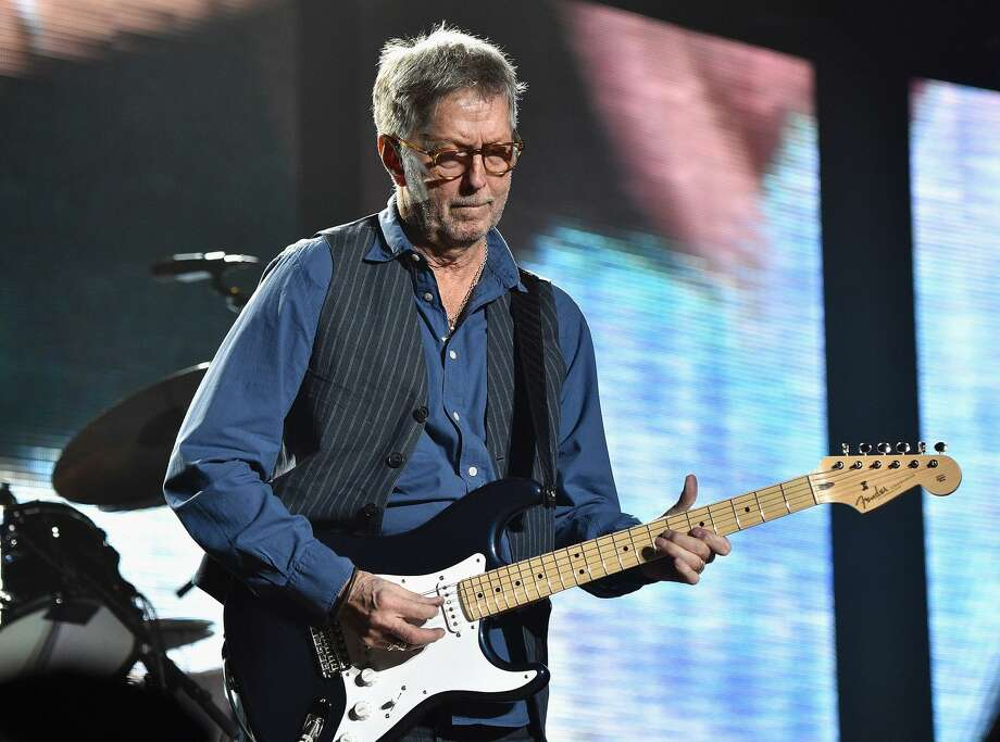 Eric Clapton will be the headline act for the 2018 Greenwich Town Party on May 26 at Roger Sherman Baldwin Park. Photo: Kevin Mazur / Getty Images For Eric Clapton / 2017 Kevin Mazur