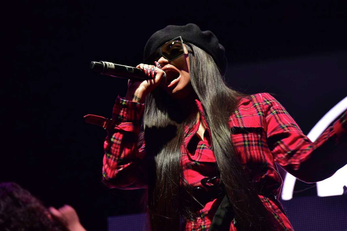 Cardi B performs at Day For Night at Post HTX in Downtown Houston on Saturday, December16, 2017
