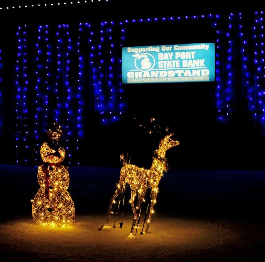 Holiday Light Show at the Huron Community Fairgrounds 2017 Photo: Paul P. Adams/Huron Daily Tribune