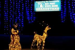Holiday Light Show at the Huron Community Fairgrounds 2017