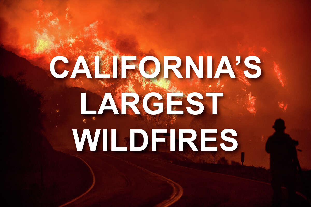 Click through the images to see the top 20 largest wildfires in California in modern times.Cal Fire's reliable records date back to 1932, the year of the massive Matilija fire in Ventura County, which burned 220,000 acres.