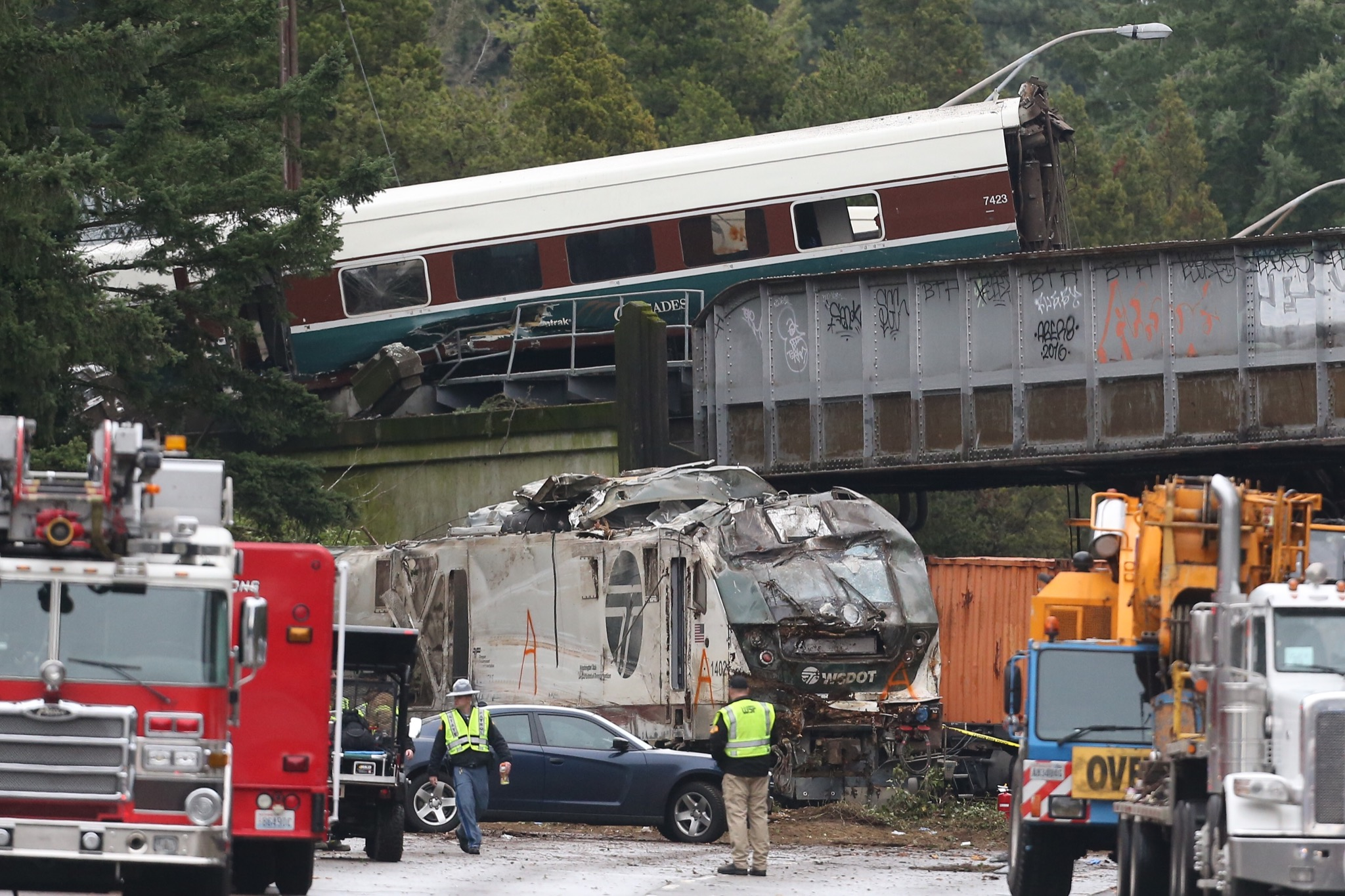 Ntsb Train Was Traveling Twice The Speed Limit Before Derailment I5 Engine Diagram