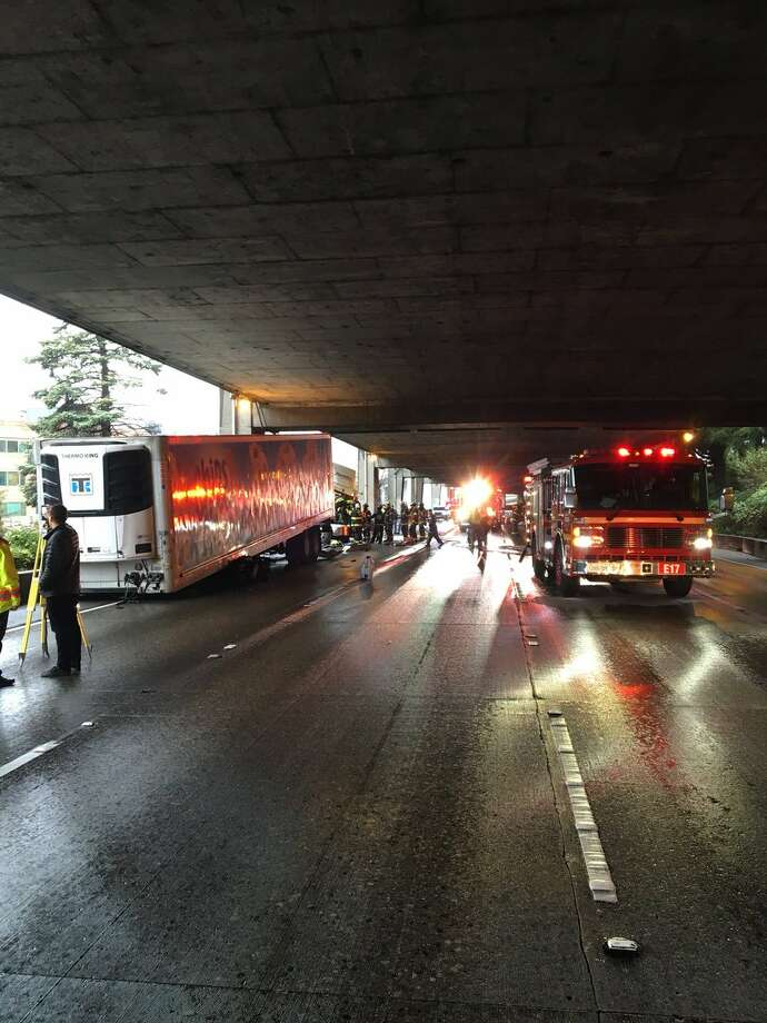 Seattle express lanes reopen after deadly crash - seattlepi com