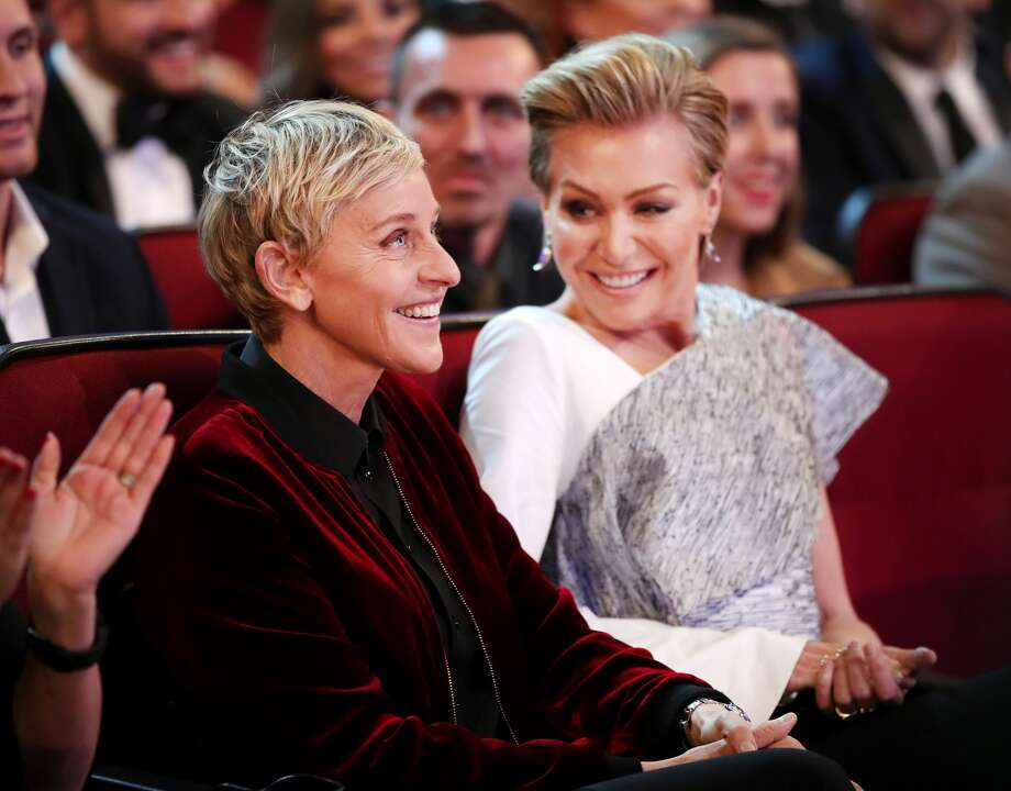 TV personality Ellen DeGeneres (L) and actress Portia de Rossi attend the People's Choice Awards 2017 at Microsoft Theater on January 18, 2017 in Los Angeles, California.  (Photo by Christopher Polk/Getty Images for People's Choice Awards) Photo: Christopher Polk/Getty Images For People's Choice Awards
