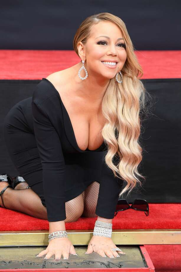 Mariah Carey is honored with a Hand and Footprint Ceremony at TCL Chinese Theatre on November 1, 2017 in Hollywood, California. Photo: Steve Granitz/WireImage