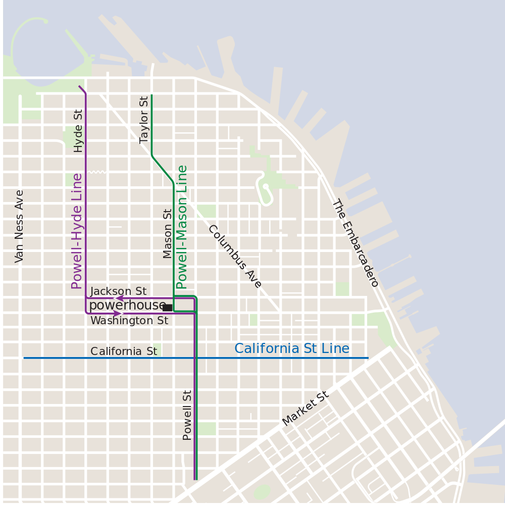 which sf cable car route is right for you? here's an introduction