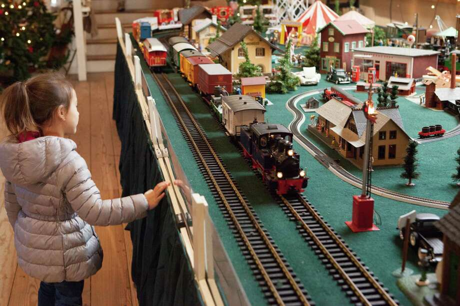"The ""Great Trains Holiday Exhibit"" at the Wilton Historical Society will run through Jan.15. Photo: Takeshi Sergel / Contributed Photo"