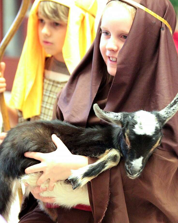 The children's nativity pageant will be Christmas Eve at 2 and 5 p.m. with children from toddlers through middle school participating. The community is welcome at St. Francis Episcopal Church, 345 Piney Point Road. Photo: Courtesy Photo