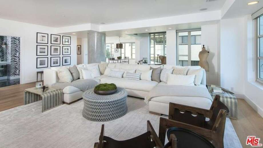 Kendall Jenner is selling her very first place, a Wilshire Boulevard two-bedroom condo that apparently lacks the closet space that's a must-have for a young model, according to the Observer. Asking price: $1.6 million. Photo: Realtor.com