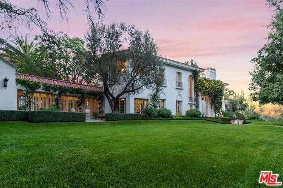 Angelina Jolie entered into escrow on a $25 million Los Feliz estate once belonging to iconic director Cecil B. DeMille. Photo: Realtor.com