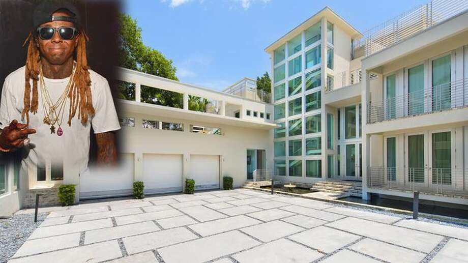 Hip-hop star Lil Wayne sold his 15,000-square-foot mansion in Miami Beach for a cool $10million — $2 million under the asking price. Photo: Realtor.com