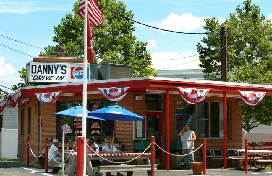 Danny's Drive-In, on Ferry Boulevard in Stratford, has been in business for 75 years. Photo: Autumn Driscoll / Connecticut Post