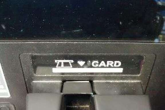 Credit card skimming devices were found on ATMs at a Chevron gas station and a 7-Eleven store in Hayward, California on Friday.
