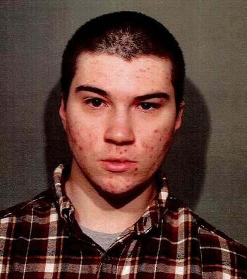 Cory Roath, 21, of New Britain, Conn. was arrested in New Canaan, Conn. on Dec. 14, 2017 for second-degree harassment after he left a threatening voicemail for a Wells Fargo employee. Photo: Contributed Photo / Contributed Photo / New Canaan News contributed