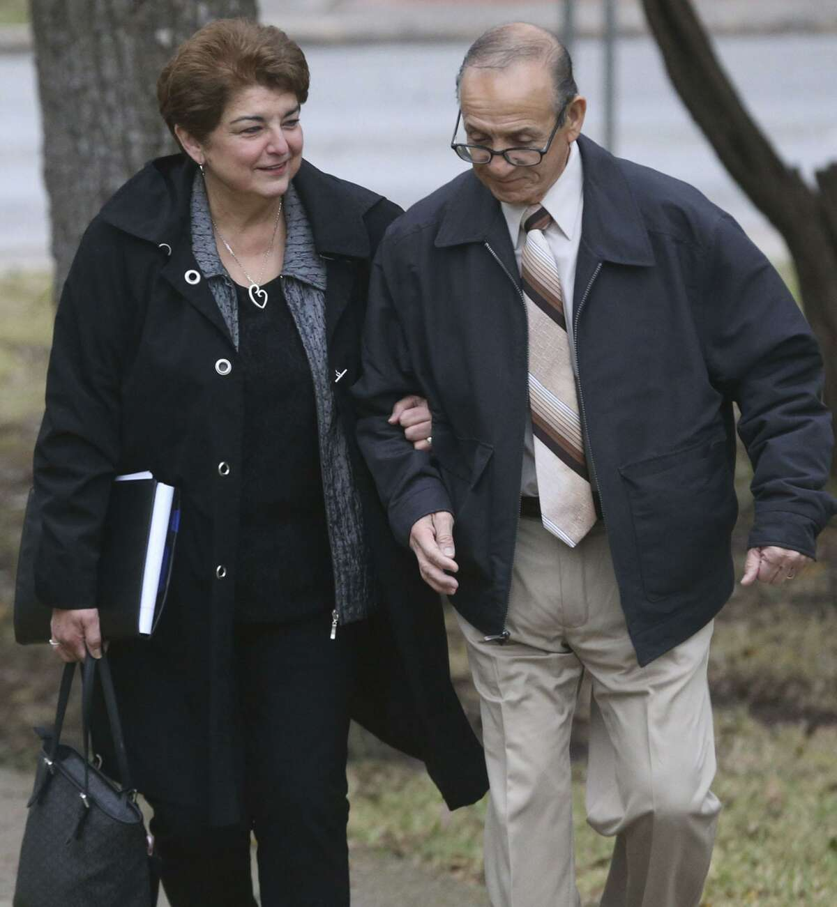 Olga Hernandez (left), a former San Antonio Independent School District trustee, was acquitted on public corruption charges. Though she was acquitted, public officials must also be mindful of the appearance of impropriety.