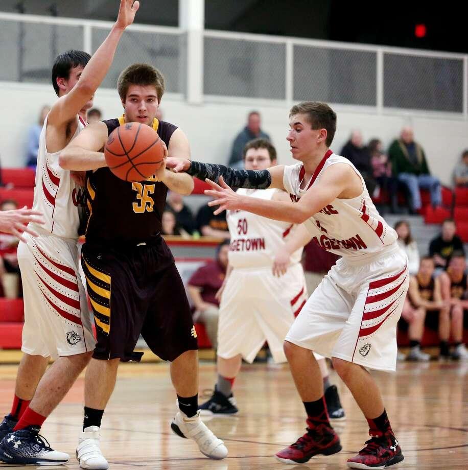 Deckerville at Owen-Gage — Boys Basketball 2017 Photo: Paul P. Adams/Huron Daily Tribune