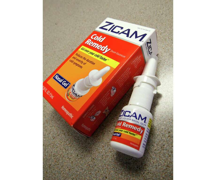 Homeopathic brands include Zicam Allergy Relief.  Photo: Eric Shelton, STF / Copyright 2017 The Associated Press. All rights reserved.