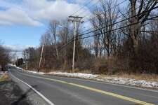 Property at 33 and 45 Forts Ferry Rd. on Monday, Jan. 30, 2017, in Colonie, N.Y. Developer Frank Nigro is proposing to build a 110-unit apartment building for seniors at this location. (Will Waldron/Times Union)