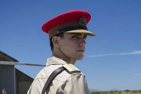 Joe Martin (Jeremy Neumark Jones) as the new captain in Aden, in what is now Yemen.