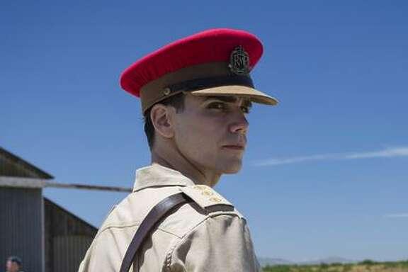 Joe Martin (Jeremy Neumark Jones) as the new captain in Aden, in what is now Yemen.
